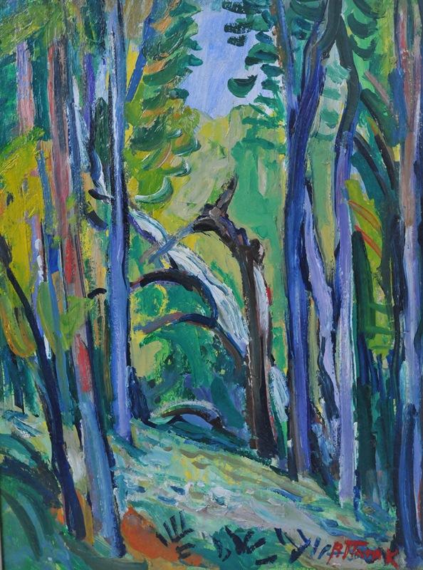 Ліс у Рокитному