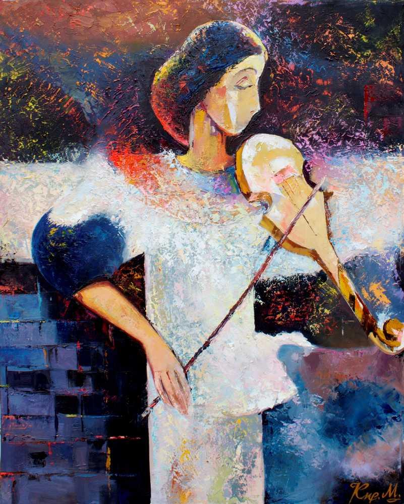 Скрипка грає