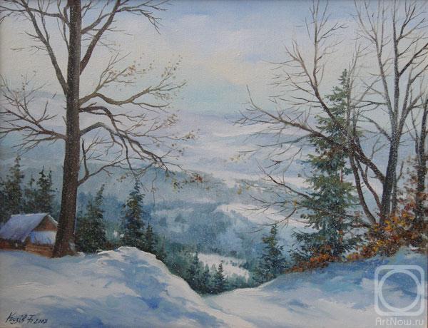 В Карпатах зима