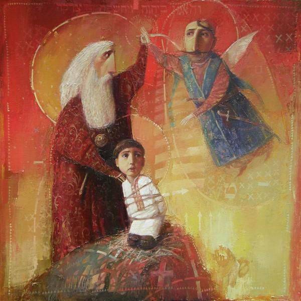 А.Антонюк. Бог испытывает Авраама