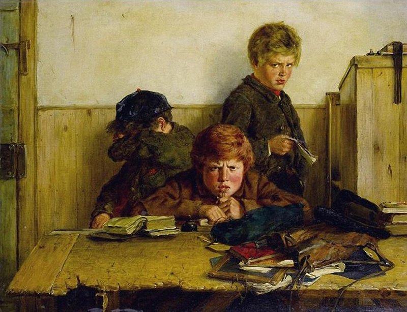 Erskine Nicol Kept In 1871 г.