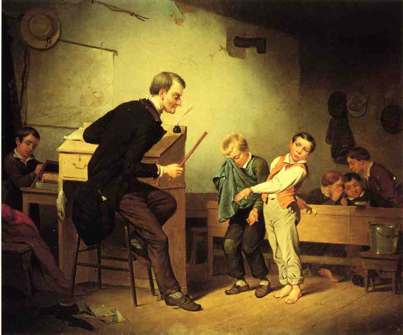 Francis William Edmonds The Two Culprits 1850 г.