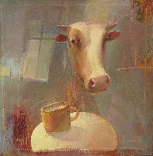 Кружка молока