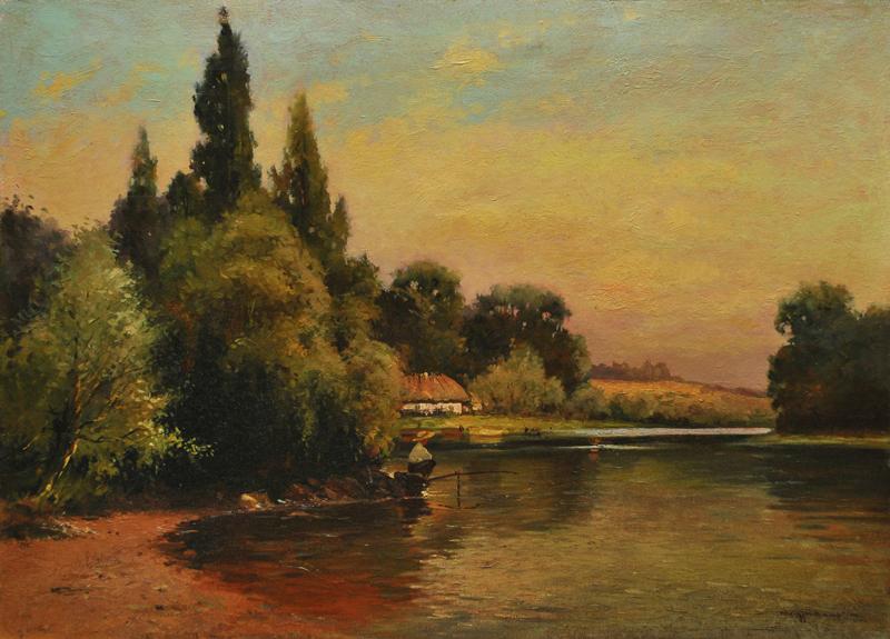 Рибалка. п.о. 50х70