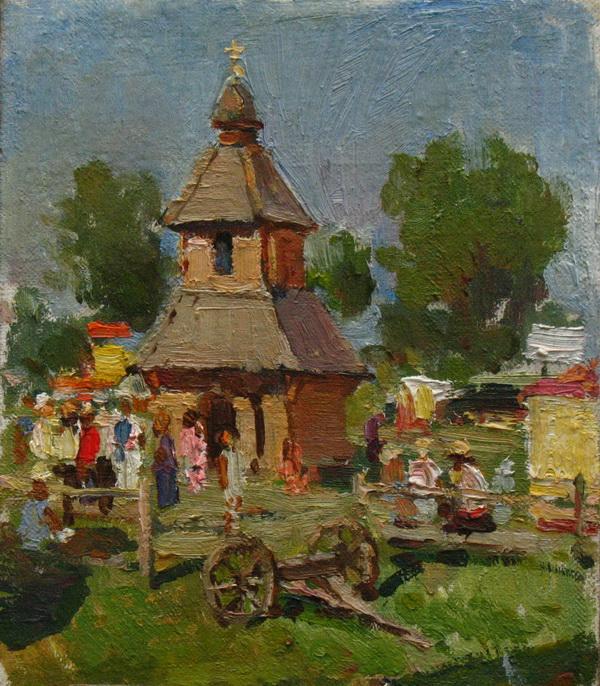 Церковь на Сороченской ярмарке