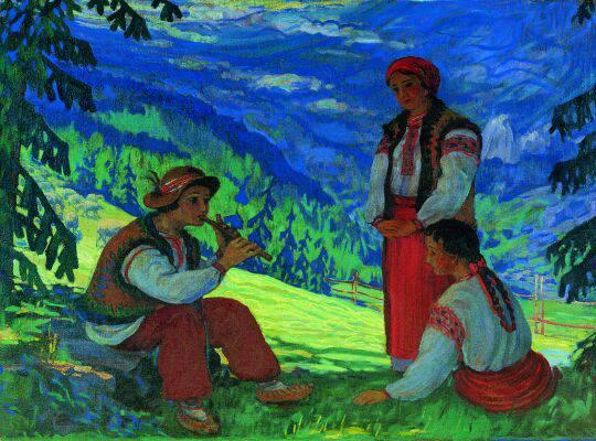 Курдидік М. Iдилія