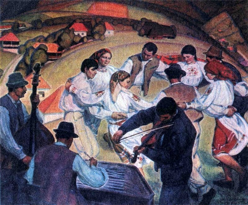 М. Романишин. Гуцульський танець