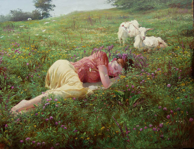 Сон на лугу»