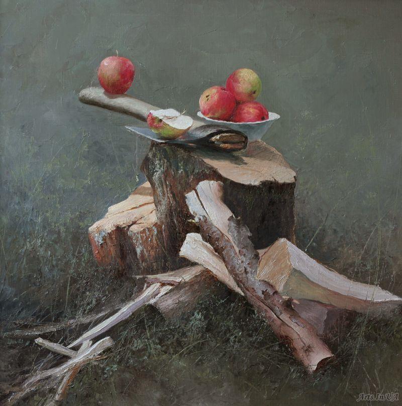 Топор и яблоки