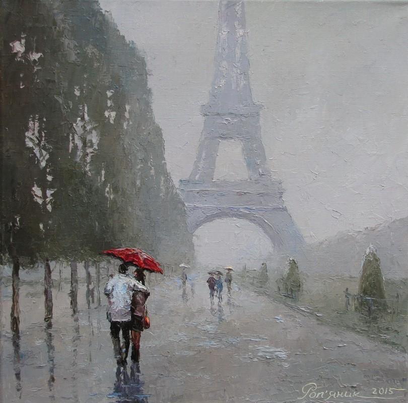 У Парижі - дощ