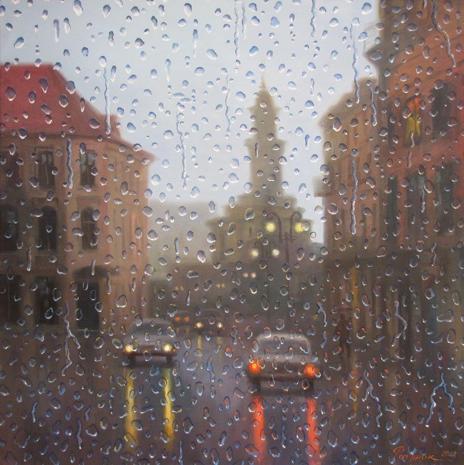 У Станіславі дощ