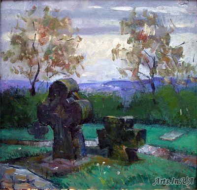 Хрести у Суботові. Етюд