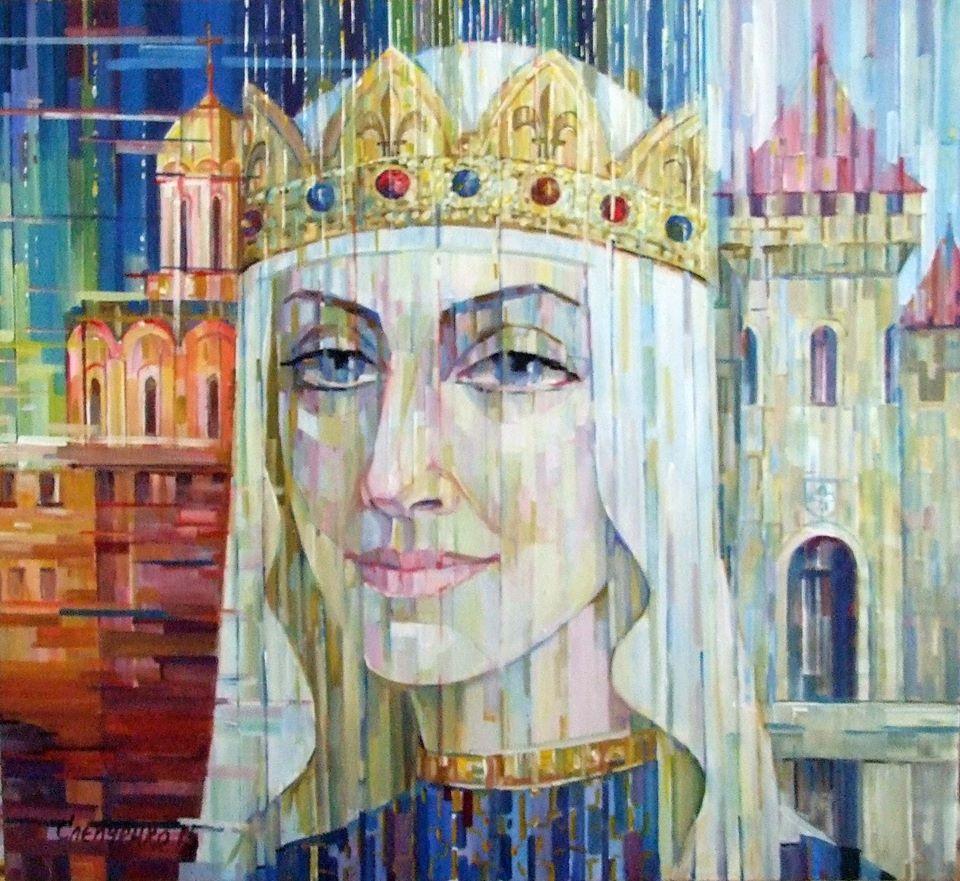 Портрет Анни Ярославни- королеви Франції,
