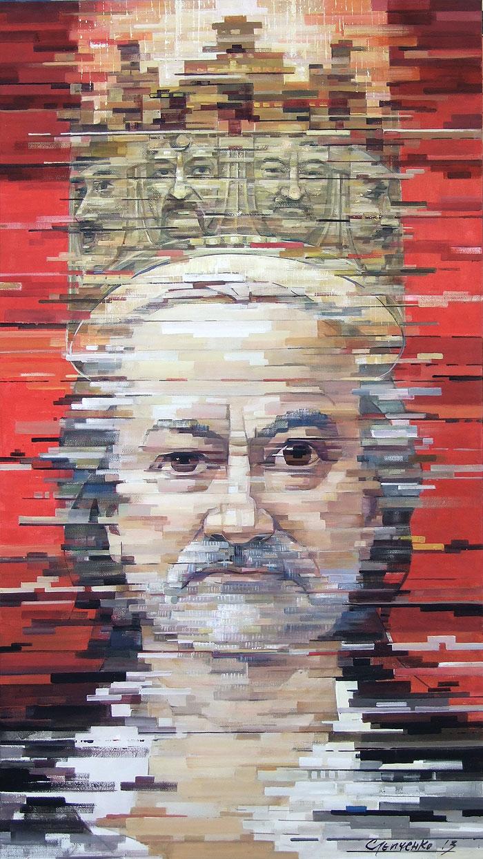 Портрет Богдана Ступки, 2013