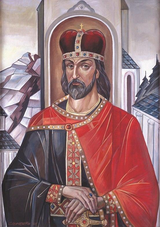 Портрет Короля Данила Галицького я написав у 2001році у Львові