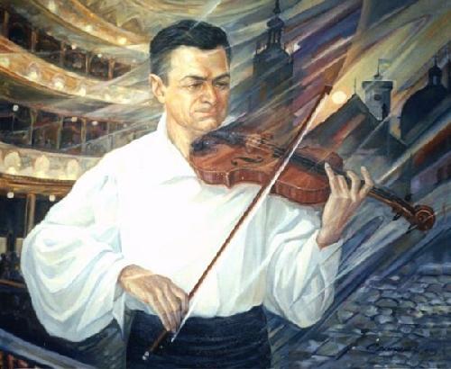 Портрет скрипача, 2003
