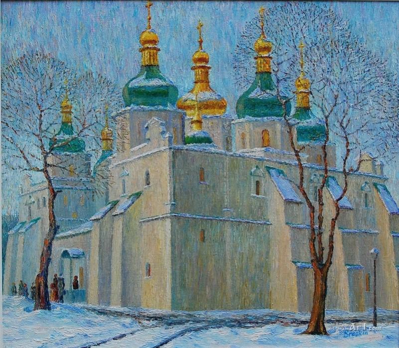 Киевская София. Зима