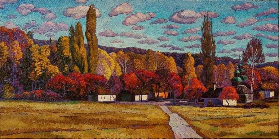 Осень в Пирогово