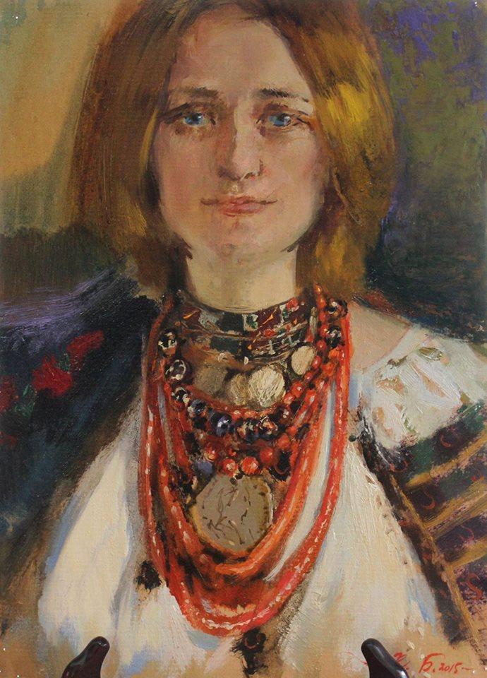 Портрет Олени Могировської, п.о., 2015р.,с.Славське
