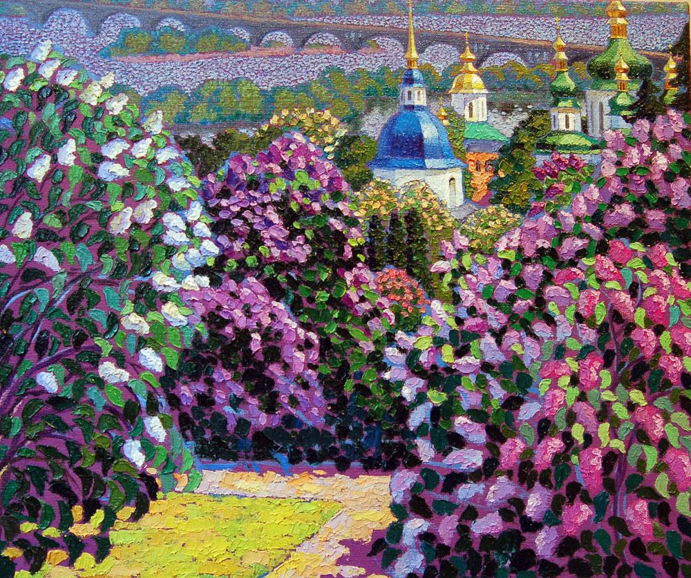 Сирень,Выдубицкий монастырь