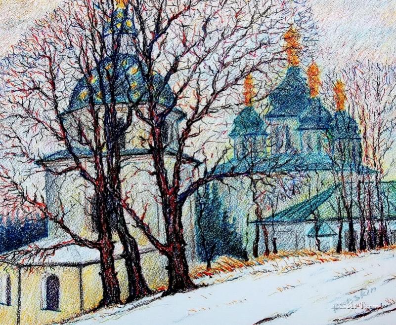 Выдубицкий монастырь. Киев