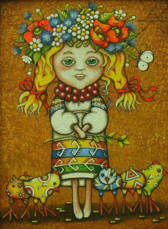 Alyona Krutogolova _ paintings