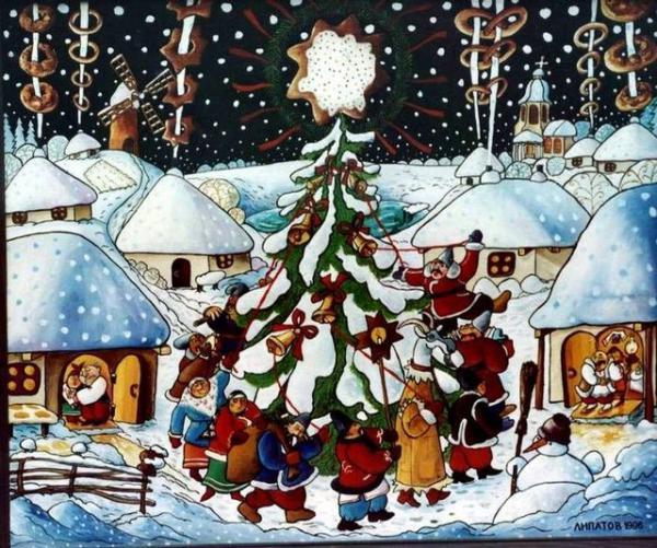 Ліпатов А. Різдво