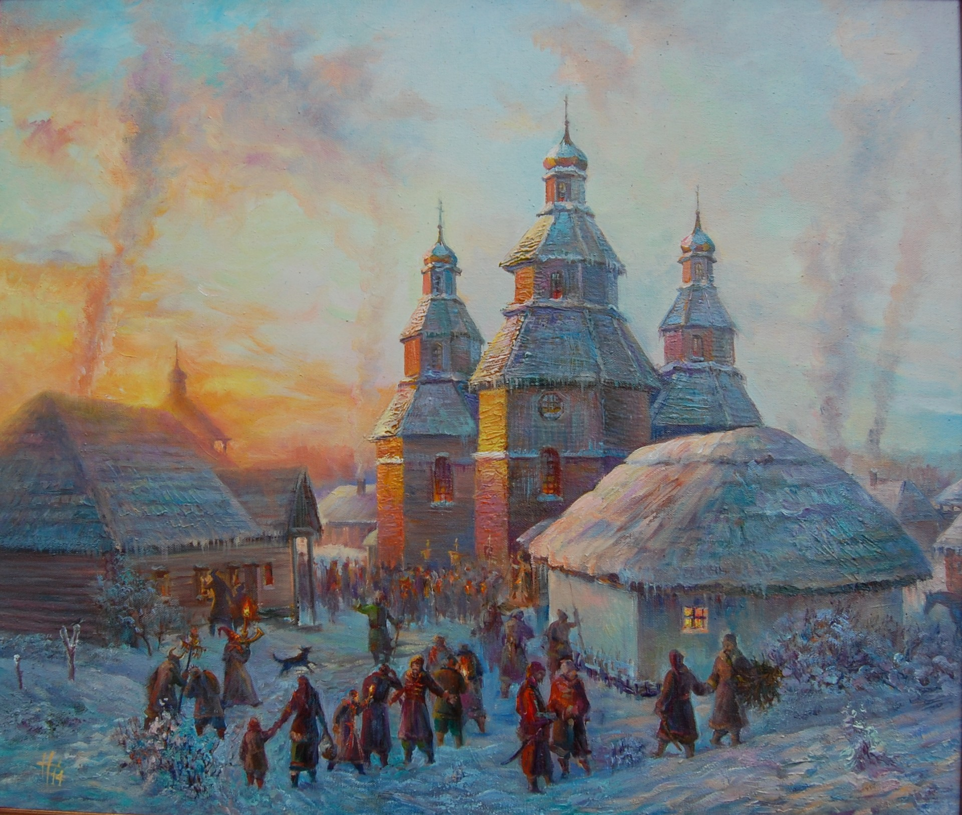 Рождество на Сечи, Николай Шиверский