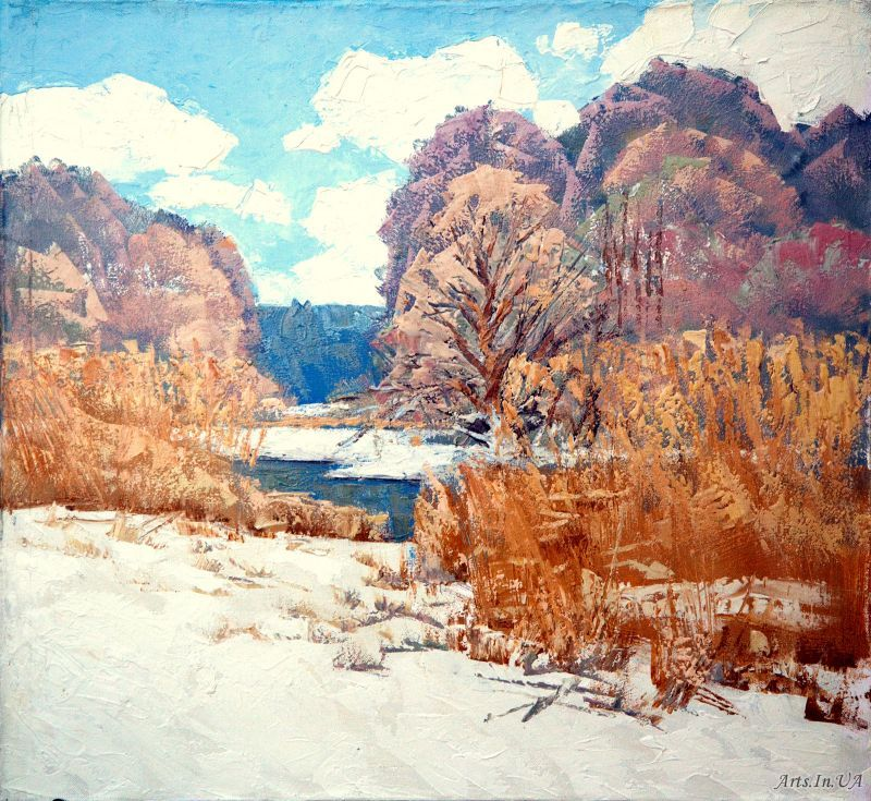 Зима на Ворсклi