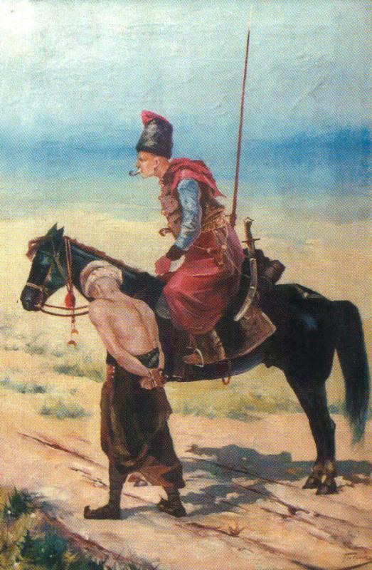 «Козак веде полоненого турка»