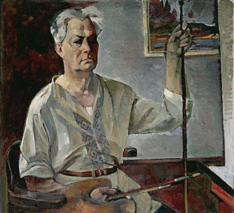1Автопортрет, Третьяковская галерея