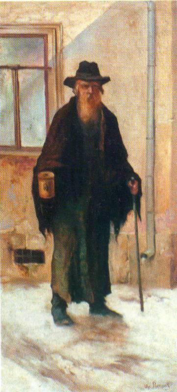 Портрет жида-жебрака