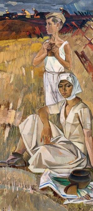 Важкі роки (Триптих Хліб, права частина),1967 р.