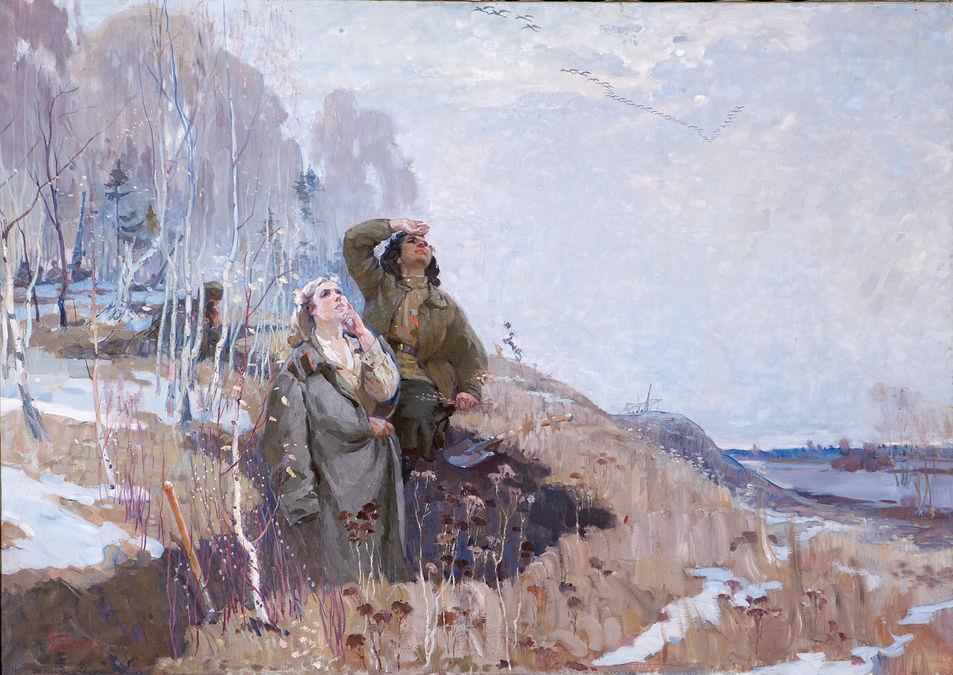 Журавлі. Фронтова весна, 1967 р.