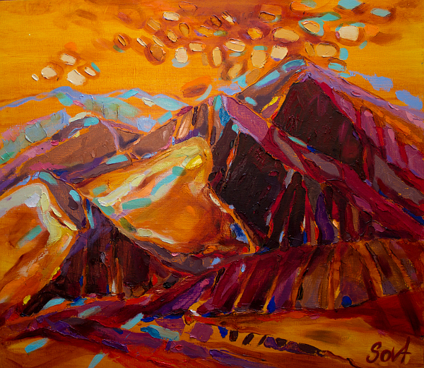 багряні гори