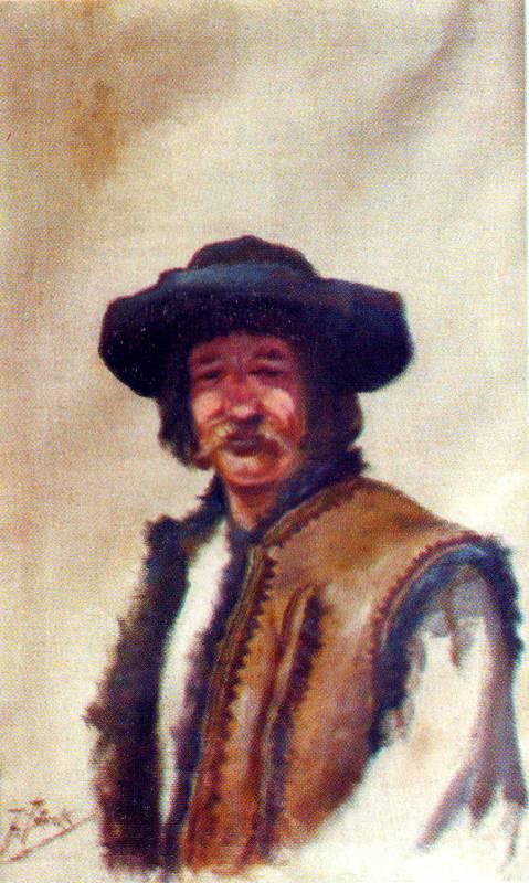 портрет гуцула
