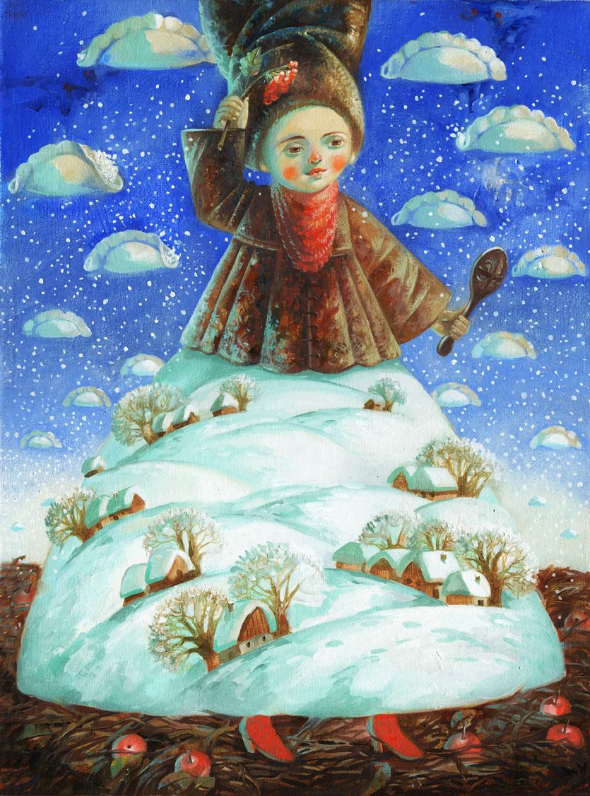 зима-чарівниця