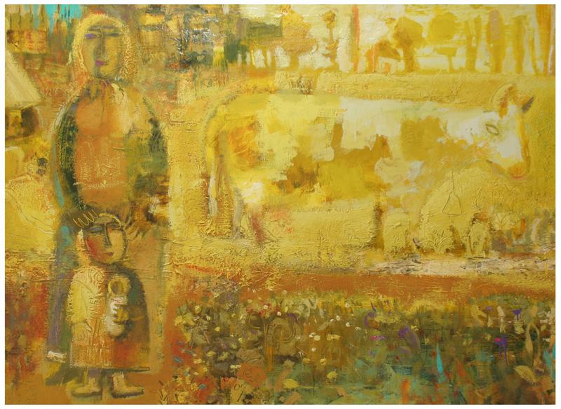 Мать, Корова и много солнца