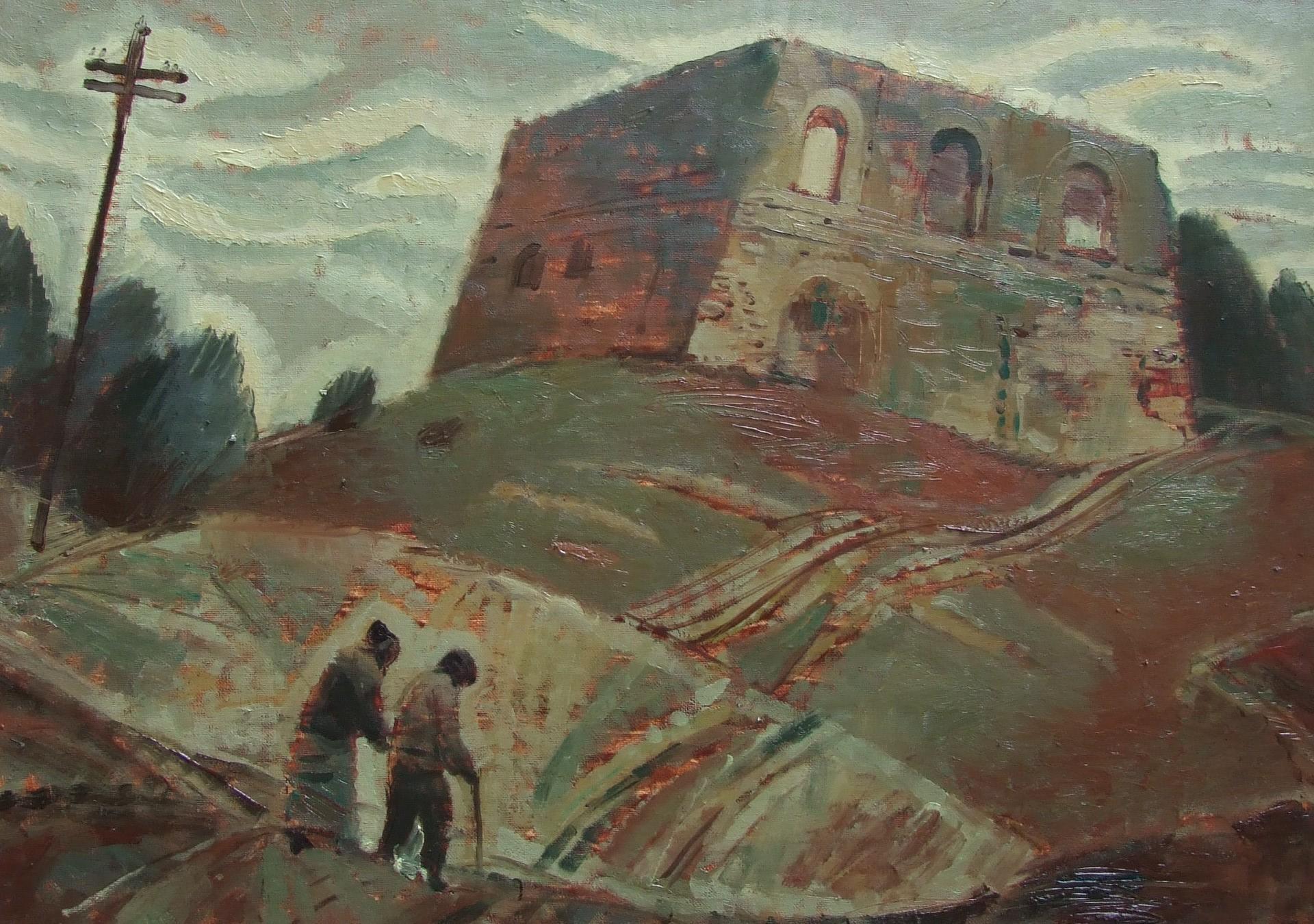 staraya_sinagoga_50h70_holst_maslo_2011g