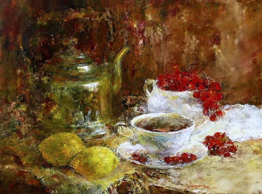 Калина к чаю
