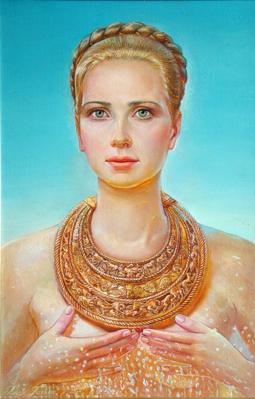 Портрет дружини в пекторалі