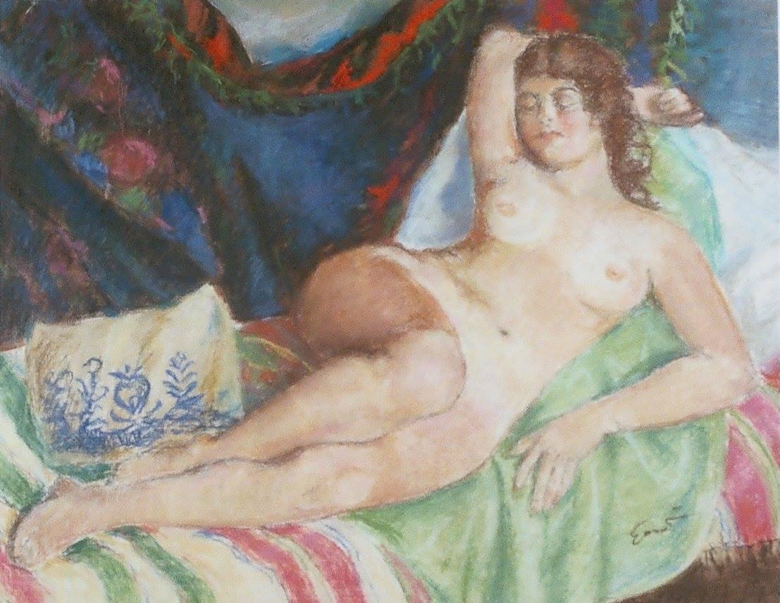 Дівчина в постелі