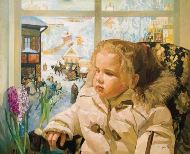 Девочка Зима