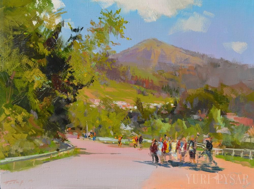 Діти в горах