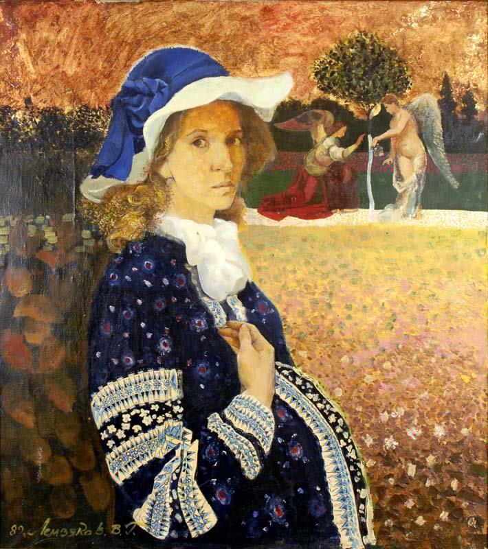 Портрет молодої жінки
