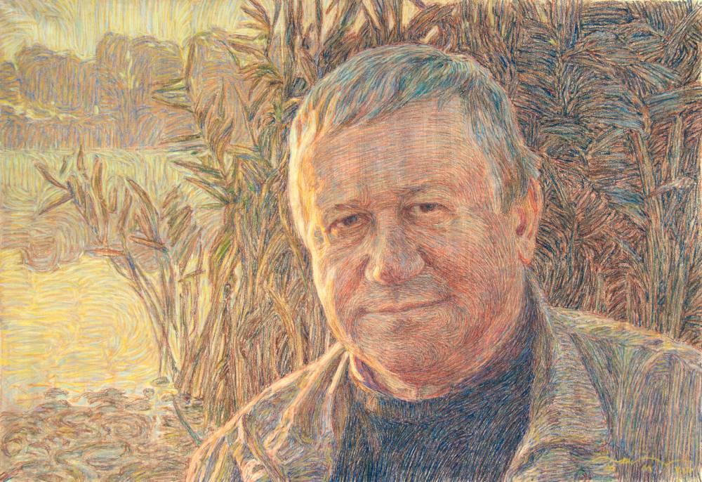 Портрет заслуженного художника Украины В. В. Чурсина
