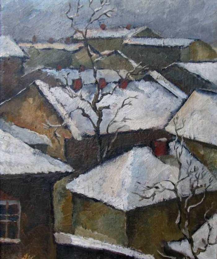 Зимові дахи