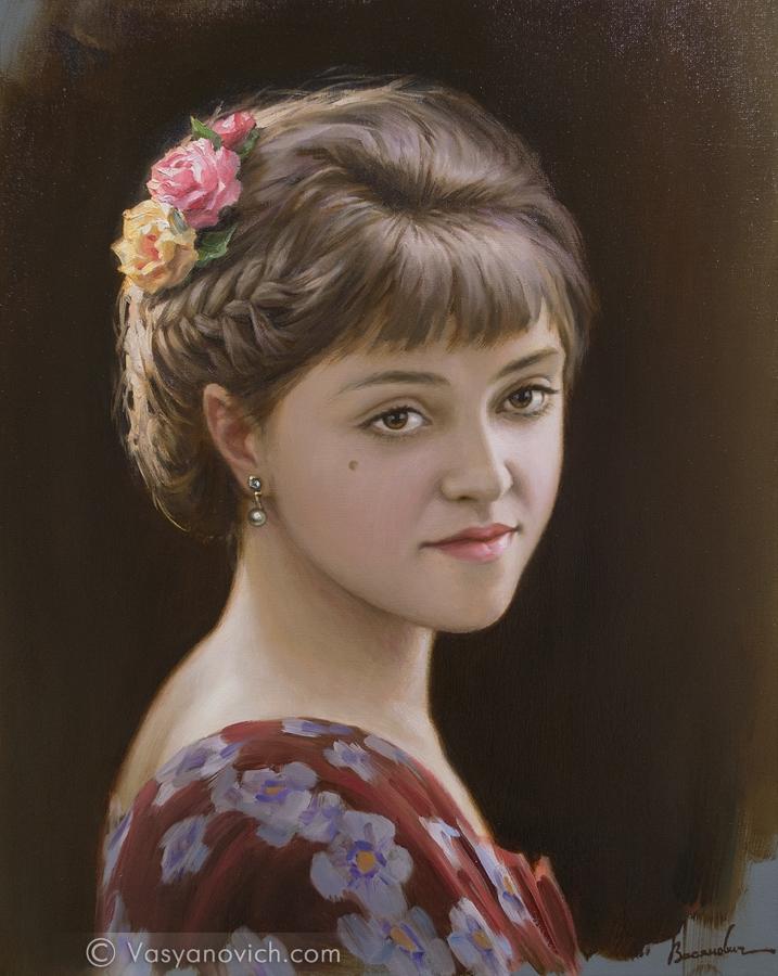 zhenskiy-portret-s-zakolkoy-iz-roz