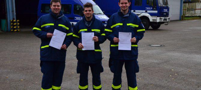 Neue Führungskräfte verstärken das THW Hannover/Langenhagen