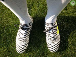 kopačky adidas nemeziz 17.2 on feet